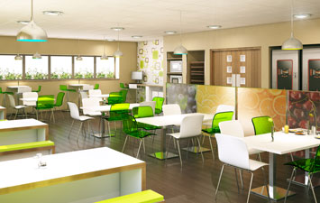 Apetito canteen by Procol