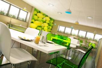 Apetito's refurbished canteen