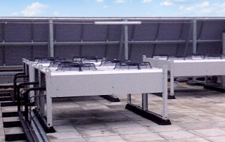 Rooftop air-handling unit