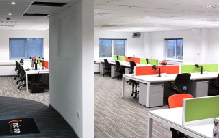 Micron's refurbished offices