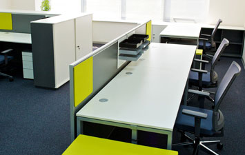 Example of a refurbished office space