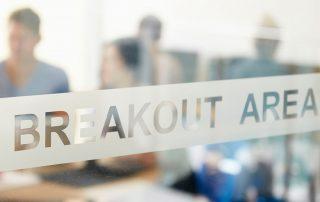 Breakout area