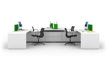 Office desks and seats