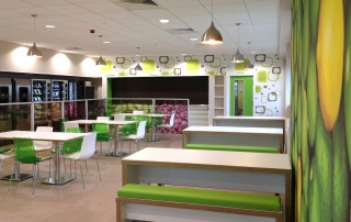 Apetito's refurbished canteen
