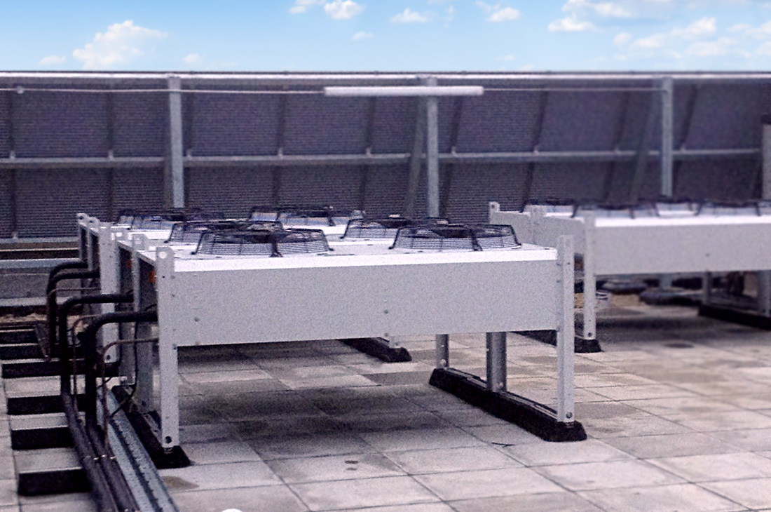 Rooftop air-handling unit