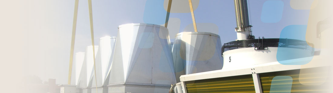 Rooftop air handling unit replaced by Procol