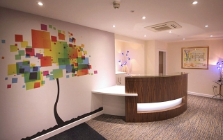 Fit out of serviced office space in Kingsbury House