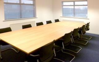 Meeting room for Siemens Rail