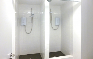 Showers for Siemens Rail