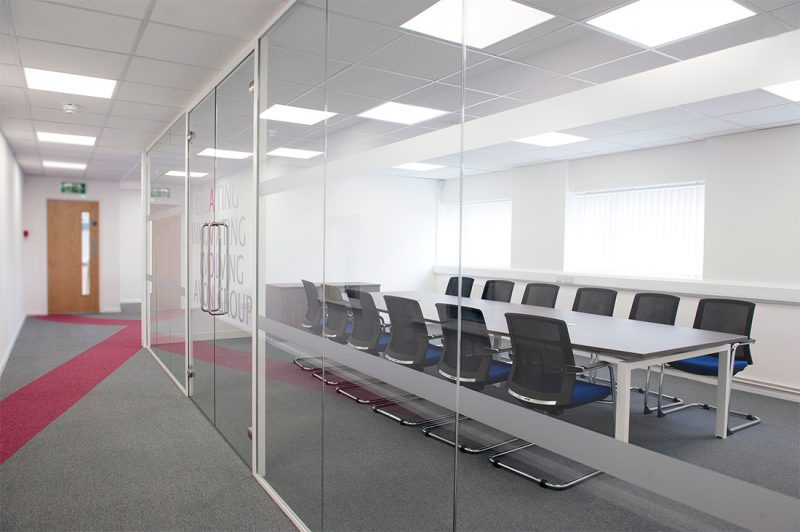 P & D Manufacturing's refurbished office space