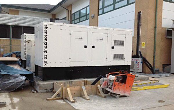 Backup generator for a data centre