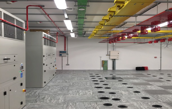 Completed fit out of a data centre