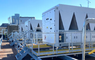 New roof-mounted chillers