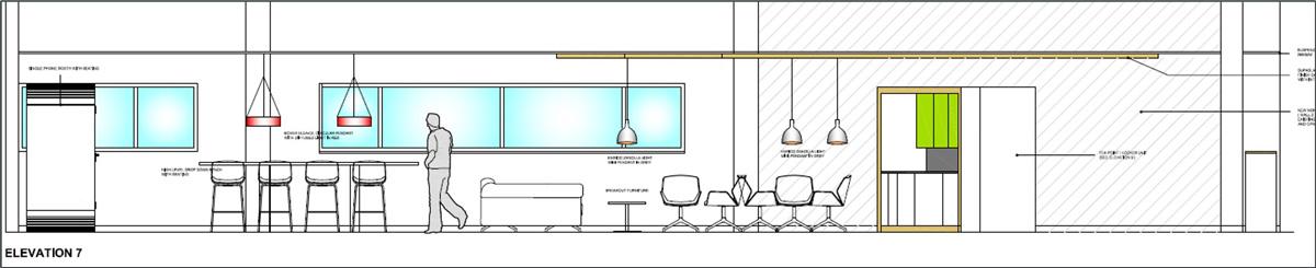 Design of the welfare area