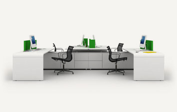 Office seating and desks