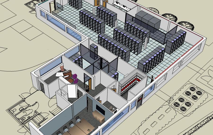 Data centre design by Procol